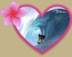 hawaiian Surfer Girl