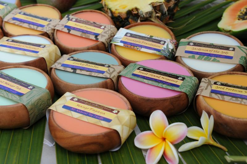paradise candles of hawaii soy candles